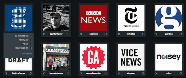 Organisieren von Instagram Accounts in Gruppen mit Iconosquare